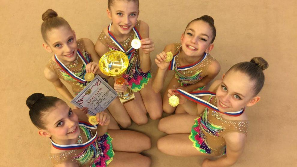 """""""Центр спортивной подготовки """"Олимп"""" проводит набор детей от 3-х лет на занятия художественной гимнастикой."""